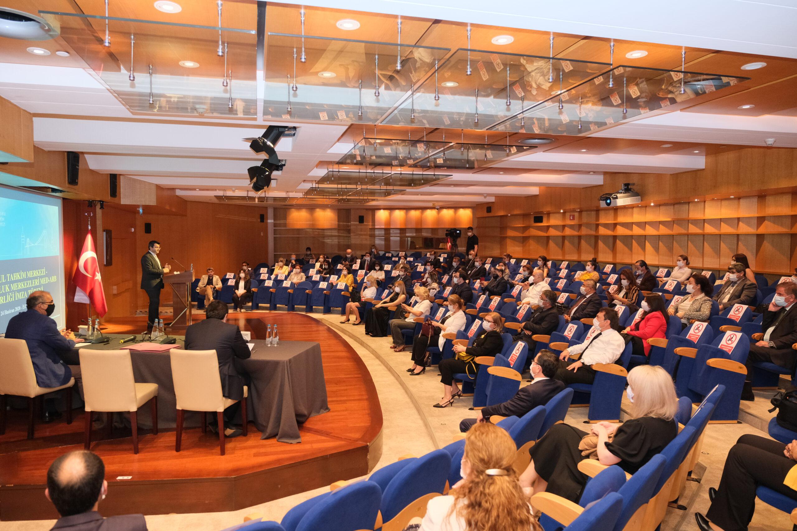 İstanbul Tahkim Merkezi ile İşbirliği Protokolü